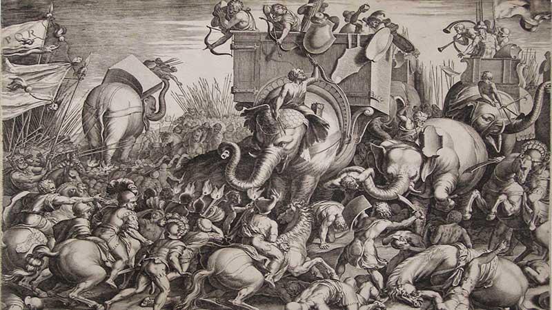 สงครามคานาเอ ความพ่ายแพ้ของโรม